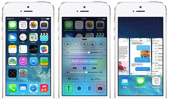 Das Sicherheitsupdate auf iOS 7.1.1 behebt mehrere kritische Sicherheitslücken und sollte sofort installiert werden. (Foto: Apple)