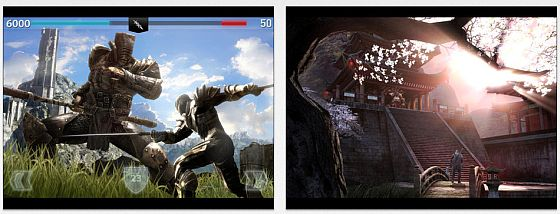 Infinity Blade II Screens