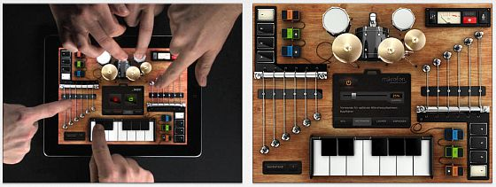 Mit Rockmate kann man schnell Musik machen - die App bietet aber auch Funktionen für alle, die sich etwas genauer mit der App und ihren Möglichkeiten befassen möchten.