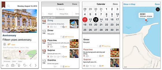 Auch auf dem iPhone sieht die Darstellung gut aus - ich würde die App aber trotzdem eher für das iPad empfehlen.
