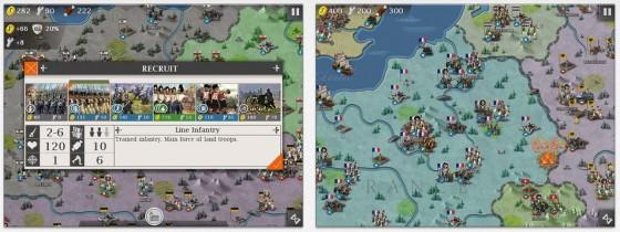 Screenshots European Wars 4: Napoleon für iPhone und iPad