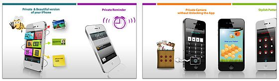 MyThings for iPhone Screens