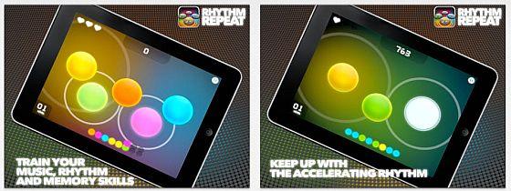 Attraktives Design gepaart mit guter Spielidee: Rhythm Repeat macht einen durchweg guten Eindruck.
