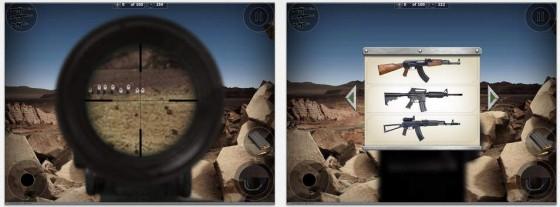 Der hohe Realitätsgrad ist ein Plus für das Scharfschützenspiel Sniper Time: The Range.