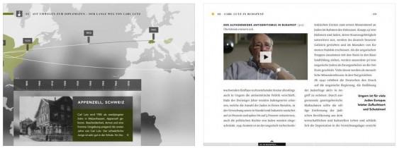 Das Videobuch nutzt die Möglichkeiten des iPad gut aus und schafft so ein intensiveres Erlebnis beim Lesen und Ansehen der integrierten Videoclips.