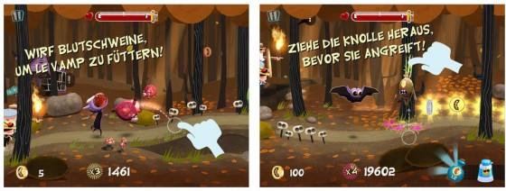 Ungewöhnliches Spiel, dieses Le Vamp. Aber den Nutzern gefällt's, denn Le Vamp kommt auf 4,5 Sterne im Schnitt
