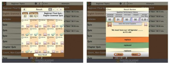 Grammar Expert: english Grammar Complete Screens