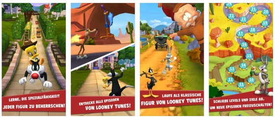 Sehr gut umgesetzt und garantiert nicht langweilig: Looney Tunes Dash hat das Zeug zum Erfolg.