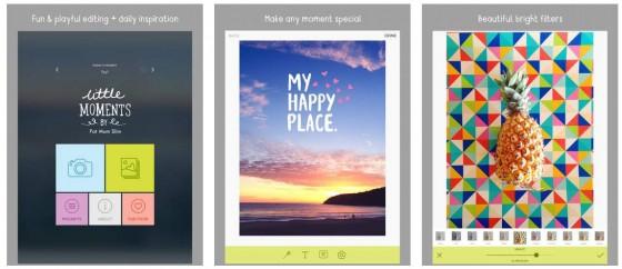 Einfach täglich einen kleinen Moment einfangen - dafür bietet Little Moments die Ausrüstung. Eine gute Idee, die von Apple in Australien ausgezeichnet wurde.