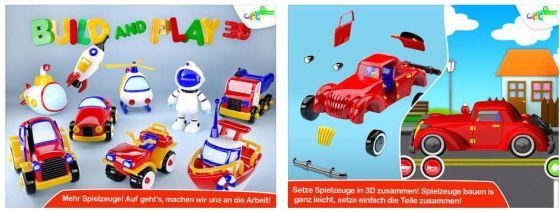 Die komplette App ist sehr gut auf das Spielbedürfnis kleiner Konstrukteure ausgerichtet und kann unterwegs ein Kind einige Zeit beschäftigen.