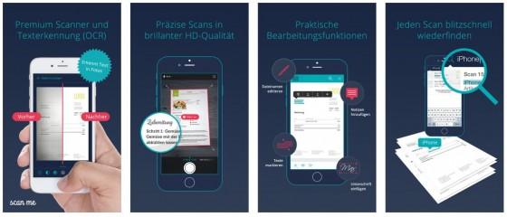 Aktuelles Design und tolle Funktionen: scheint so, als wäre hier eine führende Scanner-App veröffentlicht worden.