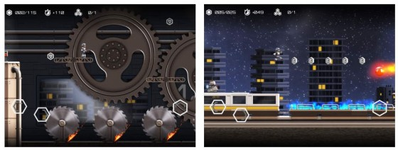 In Atom Run sammelst Du als Roboter Elgo Moleküle und Atome ein, um das Leben auf der Erde wiederzuerwecken.