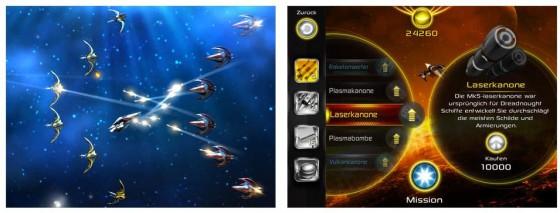 Grandiose Grafik und auf Mobilgeräte angepasste Touch-Steuerung - das ist Alpha Zero.