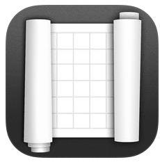 Sketch Rolls Icon