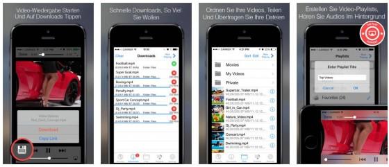 Mit Programmen, wie dem Video-Downloader Pro lädst Du Dir ganz einfach einen Bestand an offline verfügbaren Videos aus dem Internet. Ideal für Bahnfahrten, Wartezeiten oder den nächsten Urlaub.