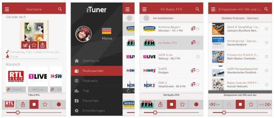 30.000 Sender hörbereit dabei. MyTuner macht die Suche einfach und zeigt Deine Lieblingssender direkt mit Logo auf der Startseite der App.