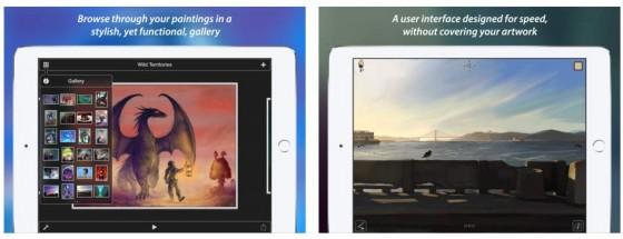 Auf dem iPad profitiert der Nutzer natürlich von dem großen Display. Bis allerdings solche Bilder möglich werden, braucht es viel, viel Übung oder ein überragendes Talent.