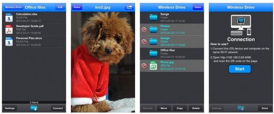 Mit Wireless Drive Pro kannst Du Dein iPhone oder iPad wie einen USB-Stick nutzen. Die App funktioniert ganz einfach und zuverlässig.