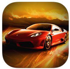 Slotcar-Racing Icon