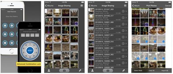 Safety Photo+Video bringt alles für das wirklich private Fotoalbum mit. So kann man das iPhone oder iPad an den Festtagen auch mal aus der Hand geben.