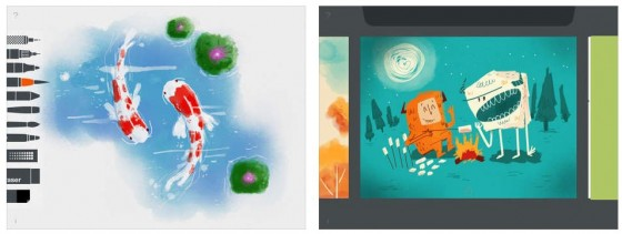 Tayasui Sketches + ist ein vollständiges Malprogramm für iPhone und iPad.