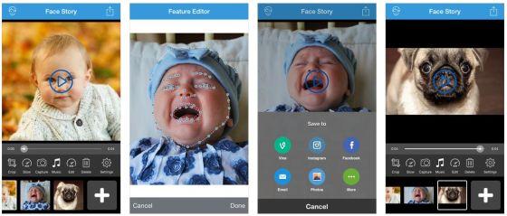 Mit Face Story gelingen Morphing-Videos ganz leicht und in ordentlicher Qualität.