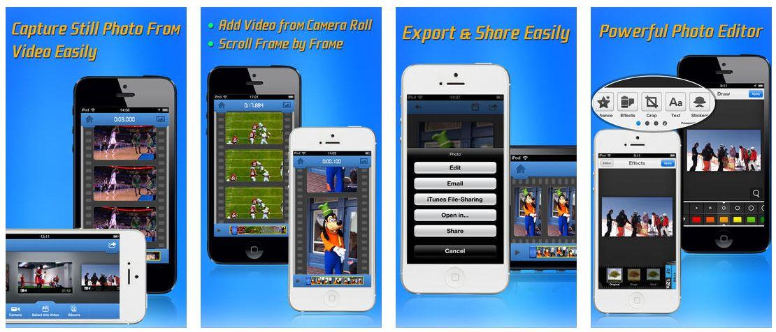 App zum Extrahieren von Fotos aus Videos gerade kostenlos | App ...