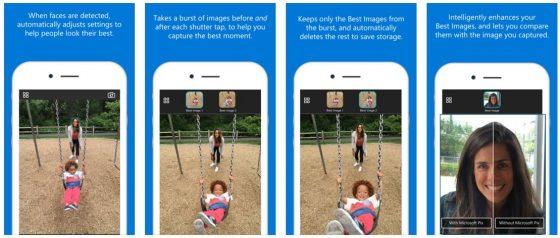 Wenn Gesichter erkannt werden, ändert Pix die Einstellungen so, dass diese am Besten wirken.