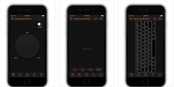 Ziemlich dunkel: Die App Remote Pro könnte auch einen hellen Skin vertragen.