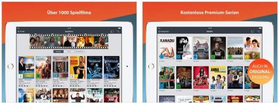 Clipfish bietet eine riesige Auswahl an Filmen, viele Serien und allein schon über 100.000 Musikvideos. Da sollte für jeden etwas dabei sein.