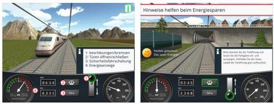 Die Aufgaben des Zugführers sind in diesem Simulator schon recht reduziert. Anfahren, Speed halten oder verändern, Bremsen, Tür auf und zu und von Zeit zu Zeit den Totmannschalter (Sicherheitsfahrschaltung) betätigen. Das war es schon...
