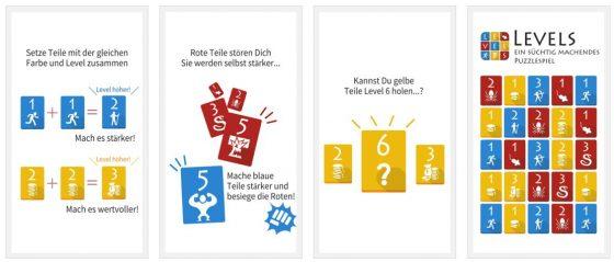 Levels überzeugt mit seinem Spielprinzip, nahezu unendlichen Möglichkeiten und seiner einfachen Art.