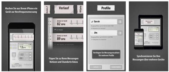 Mit Kardiograph Klassik kannst Du mit dem iPhone oder iPad Deine Herzfrequenz messen. Verrückt, aber es funktioniert.