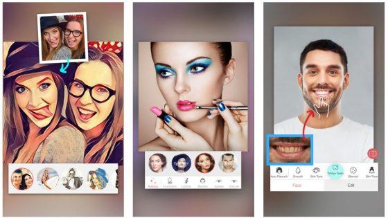 Wer auf Bildern noch schöner aussehen möchte, kann mit Facetone einige Verbesserungen an Portaits oder Selfies vornehmen. Das ist einfach und das Ergebnis reicht zumindest fürs Internet.