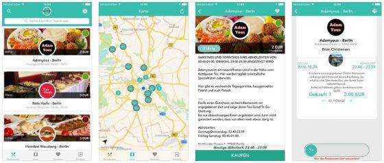 Eine gute Idee, aber die Verbreitung ist noch nicht ausreichend: TooGoodToGo bietet Lebensmittel zum Schnäppchenpreis.