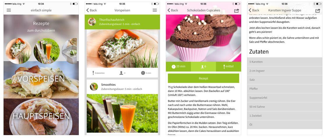 Einfachsimple eine app zum schnelleren leckeren kochen for Was kochen heute schnell