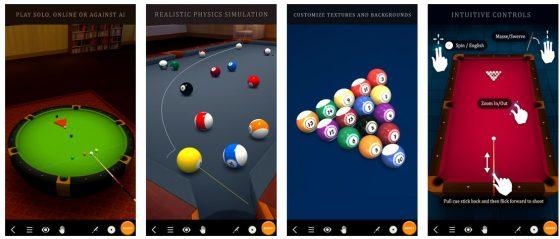 Pool Break besticht durch gute Grafik, eine ordentlich funktionierende Bedienung und mehrere Spielformate.