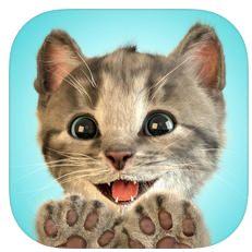 Kleines Kätzchen Icon