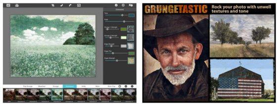 Portraits, Naturaufnahmen und Lost Places sehen mit Grungetastic und PhotoJus FX Pro gleich viel intensiver aus. Grungetastic hat zwar weniger Vorlagen, diese kann man aber nach eigenem Geschmack anpassen. Dadurch entstehen mehr Möglichkeiten.