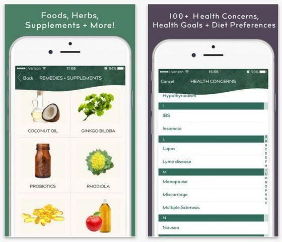 Die App richtet sich nach den Benutzern: Man gibt ein, welche Gesundheitssorgen man hat, was man erreichen möchte und bekommt dann darauf abgestimmte Vorschläge angezeigt.