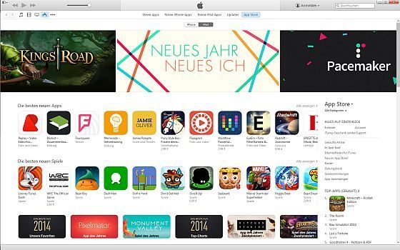 Auf diesen Anblick des App Stores in iTunes auf dem PC oder Mac müssen wir in Zukunft verzichten.