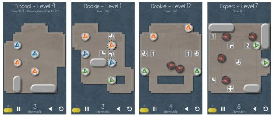 Slidercrash ist ein Puzzlespiel mit neuen Ideen, die Dir die 60 Level abwechslungsreich und zunehmend schwierig gestalten.