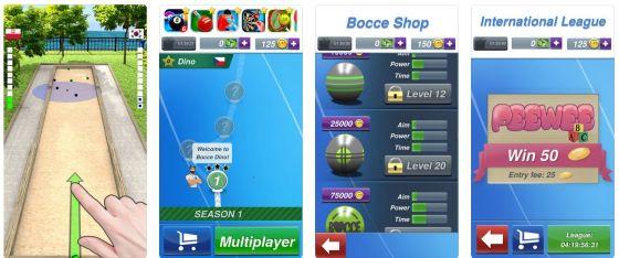 Boccia kann man nun überall spielen: Die App Bocce 3D verlagert das Boccia-Spiel auf Dein iPhone oder iPad - und ist dabei unabhängig vom Wetter.