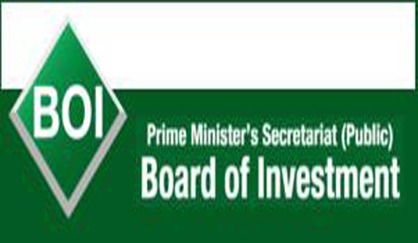 BOI to organize 'CPEC Investment Conference' on Nov, 25