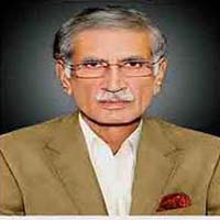 Federal Defense Minister Pervaiz Khattak