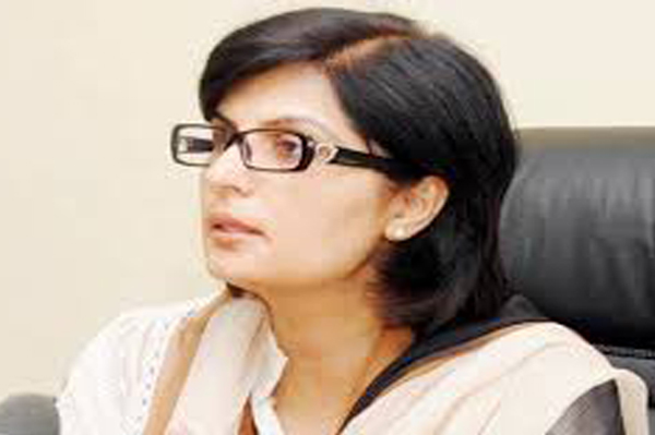Special Assistant to Prime Minister on Social Protection and Poverty Alleviation, Dr. Sania Nishtar