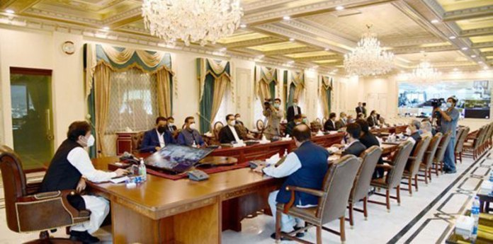 Prime Minister Imran Khan chairs meeting of National Coordination Committee on Housing, Construction and Development, at Islamabad on August 27, 2020