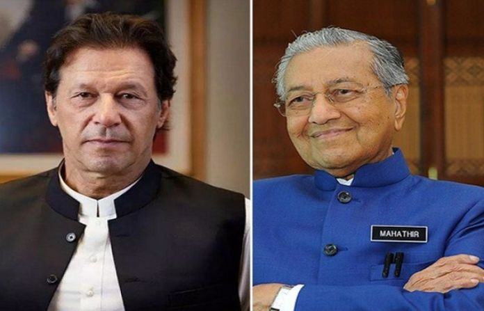 PM thanks Dr Mahathir for remarks supporting Kashmiris, against Indian aggression