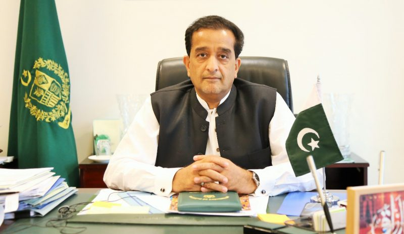 Hosting of WED, recognition of success of Imran Khan's green vision: Amin Aslam