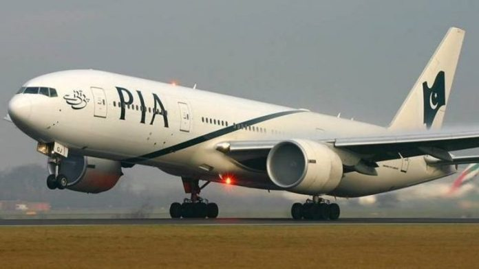 PIA's special flight airlift 165 Pakistani citizens from Chengdu, China to Islamabad